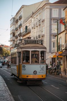 The trams in Lisbon are iconic, and no trip to the Portuguese capital would be complete without riding them. They're a great way to get around the city while experiencing one of it's most famous attractions!