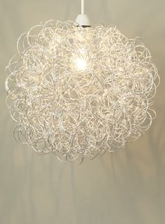 Silver Astra Easyfit Large Found in BHS and love it, looks fab lit up. Perfect light for our home and safe for our boys, unlike the previous light! Home Lighting, Lighting Design, Lampshades, Home Decor Inspiration, Things To Buy, Light Up, Chandelier, Ceiling Lights, Silver
