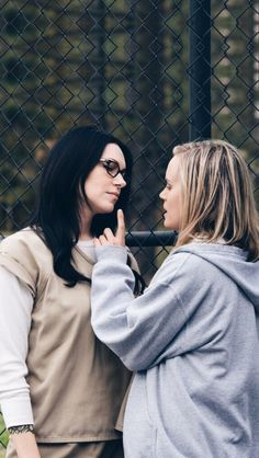 Piper Chapman and Alex Vause - Orange is the new black