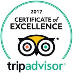 We received the Certificate of Excellence from TripAdvisor! So happy our guests love our hotel. Here are three recent reviews.