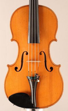 Made circa 1900 by Jerome Thibouville-Lamy, labeled Geronimo Grandini.  This light golden-orange violin has a very mature sound. It is powerful and sonorous but also sweet and penetrating.  An excellent choice for a serious musician on a budget.  Available for purchase: www.princetonviolins.com