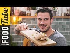 Healthy Greek Chicken Wrap | Akis Petretzikis - YouTube