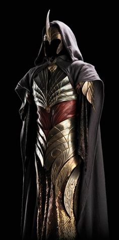 Want to know? It's Justice's armor. Love the look. :) Just wish I could use it for someone un-evil.