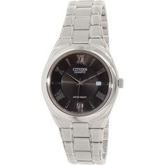 Citizen Men's Classic BI0950-51E Silver Stainless-Steel Quartz Watch