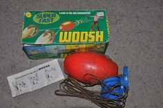 Woosh Whoosh Zip Swoosh Ball - 70's toy...this was really fun!