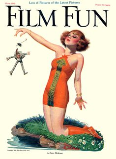 Film Fun Cover , by Enoch Bolles, June 1923