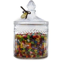 Take some of these delicious jellybeans, and with each one, reflect on a memory that has made your life a little bit happier. By the time your jar is empty, your heart will be full of the sweet memories of life. $86.40