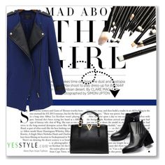 """YesStyle 4"" by emina-turic ❤ liked on Polyvore featuring Kershaw, Eloqueen, JY Shoes, LineShow, Christmas, yesstyle and winteressentials"
