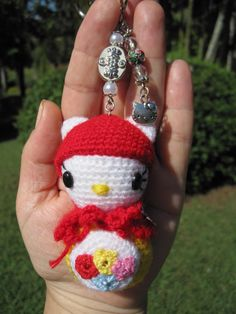 Crochet Hello Kitty ( pattern on Etsy)