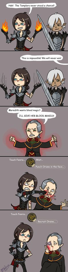 Hawke's New Recruiting Method by JPShieux.deviantart.com on @deviantART Can this be a thing for my next play through?