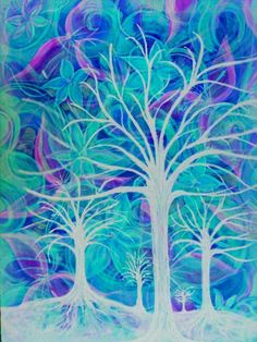 Robin mead blue trees
