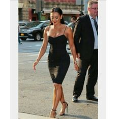 GET THE LOOK!! Mel B has everyone talking about this dress! She shows you just how smoking hot it can be!   Express rayon/silk/spandex blend for the perfect LBD. Pair with a dress jacket for easy day to night transition. Express Dresses Mini