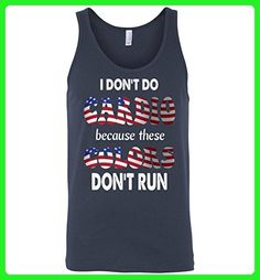 Funny 4th of July Unisex Tank-I Don't Do Cardio for Men or Women - Workout shirts (*Amazon Partner-Link)