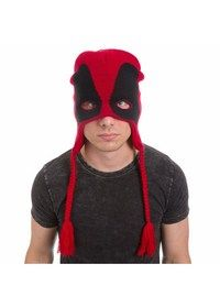 Be Deadpool...or at least half a face of him. Keep warm in style - Deadpool Style | goHastings