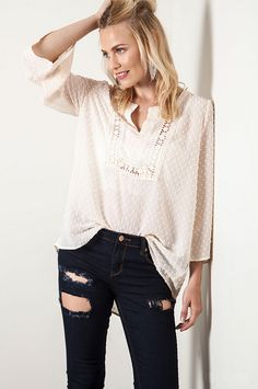 4e106a94855b5 Embellished Romance Tunic - Umgee Trendy Online Clothing Stores