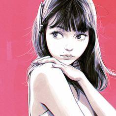Las ilustraciones de Ilya Kuvshinov