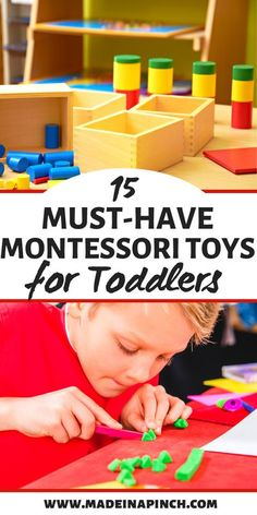 Need Montessori toys for toddlers and preschoolers? Finding great Montessori toys for two year olds and three year olds is super easy with this gift guide of the best learning toys perfect for your 2 year old or 3 year old! Must-have educational toddler toys and natural, wooden toys.  #montessori #montessoritoddler #toddlertoys #learningtoysfortoddlers #learningtoys Activities For 2 Year Olds, Toddler Learning Activities, Montessori Toddler, Montessori Toys, Toddler Preschool, Preschool Activities, Kids Learning, Montessori Bedroom, Learning Games