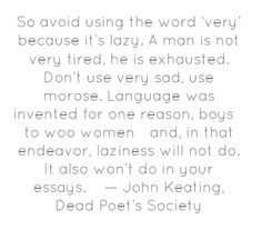 """Dead Poet's Society"" by John Keating"