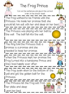Sequencing fairy tales,  plays with puppets, writing activities and many other activities that  meet the common core.: