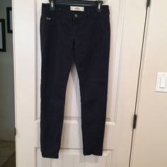 Hollister Navy pants Hollister navy pants. Super soft and comfy. Hollister Pants