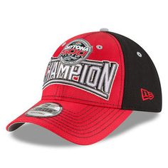 Men s New Era Red 2017 Daytona 500 Victory Lane Adjustable Hat Nascar  Daytona 9284bb62a945