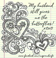 My husband still gives me the butterflies! xoxo