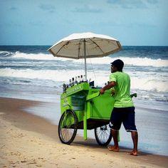 How do you like your drink?  Caipirinha caipiroska pina colada? Agua de coco only for children!