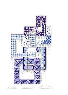 Efie goes Zentangle: celtic 14 Zentangle Drawings, Doodles Zentangles, Zentangle Patterns, Zen Doodle, Doodle Art, Altered Book Art, Doodle Lettering, Doodle Inspiration, Doodle Coloring
