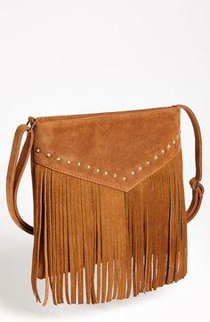 BP. Studded Fringe Crossbody Bag available at #Nordstrom