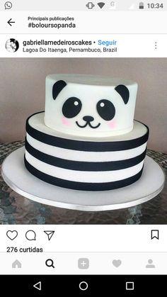 Cake Fondant Panda 19 Ideas For 2019 Fondant Cakes, Cupcake Cakes, Sirenita Cake, Bolo Fake Eva, Panda Birthday Cake, Bolo Panda, Panda Baby Showers, Best Cake Mix, Cake Mix Muffins