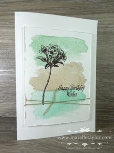I've been getting lots of use out of the very pretty, and very versatile Avant Garden  stamp set. It's one of the free Sale-a-Bration set...