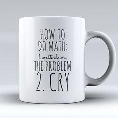 "Limited Edition - ""Engineer - Math"" Mug Coffee Mug Quotes, Coffee Mugs, How To Do Math, Funny Jokes And Riddles, Engineer Mug, Thermal Flask, Cute Coffee Cups, 8th Grade Ela, Mug Printing"