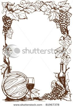 Vector Abstract Landscape With Church In Vineyard - 137099912 : Shutterstock