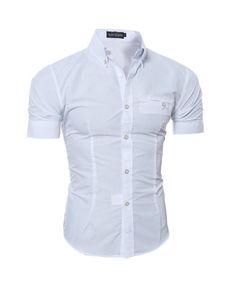 Vska Mens O-Neck Workout Curved Hem Slim Fit Casual Work T Shirt