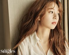 Beautiful Baek Jin Hee For March Singles | Couch Kimchi