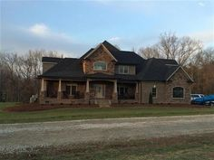 Attention Horse Lovers This Custom Brick and Stone Home sits on 9.07 Acres of land that includes a fenced in pasture 9 Stall Barn that has concrete floors lean-to storage and a round pen. Upon entry Youll fall in love looking at the 2 Story Open Curved Wrought Iron Staircase and the Arched Rock Entry in the formal dining rm. Then You will fall down looking at the HUGE Kitchen that is built for entertaining and the Den wSoaring Ceiling. Plus there are 3 Spacious BRs Play and Bonus Rm. You…