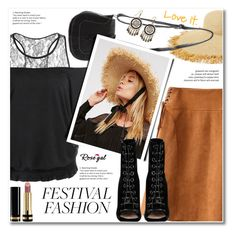 """Show Time: Best Festival Trend"" by svijetlana ❤ liked on Polyvore featuring Eric Javits, Free People, Gucci, Barbara Bui, festivalfashion and rosegal"