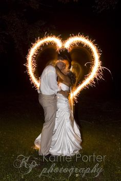 light painting wedding photography ideas - Google Search