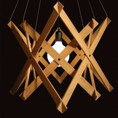 FSC Bamboo Pendant Light A Thing Of Green Beauty