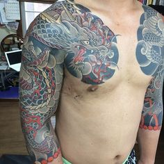 "ryu-kirin: ""There is not a single tattoo by Yozin I don't love """
