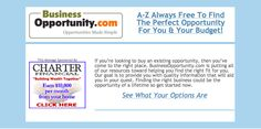 80 Opportunities To Explore http://www.businessopportunity.com