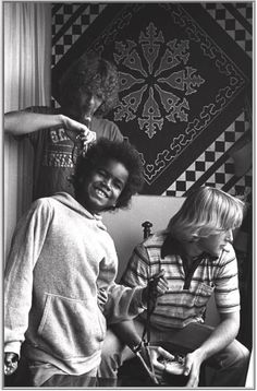 Local kids at Venice Beach, California, 1975.