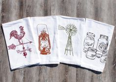 Hey, I found this really awesome Etsy listing at https://www.etsy.com/listing/247819242/rustic-tea-towels-set-of-4-screen