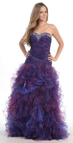 #Ball Gown Strapless Formal Prom Wedding Dress ##2714       http://amzn.to/H3oi4W
