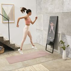 """MIRROR on Instagram: """"Want to mix things up and try something new? Jump right in to cardio, strength, yoga, barre, stretch, pilates dance, chair, pre-postnatal,…"""" Micro Apartment, Try Something New, Barre, Things To Buy, Pilates, Cardio, Strength Yoga, Buy Buy, Workout"""