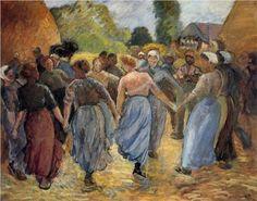 The Roundelay - Camille Pissarro