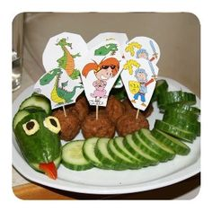Und einen Gurkendrachen gibt's zur Geburtstagsparty