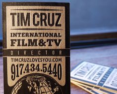 Cool business card - love the way the number looks over the globe. i'd use something music related instead.