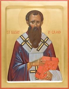 This icon of St John Chrysostom is painted on a gessoed wooden board using egg tempera paints. Byzantine Icons, Byzantine Art, John Chrysostom, Paint Icon, St Basil's, Orthodox Icons, Gold Paint, Christianity, Saints
