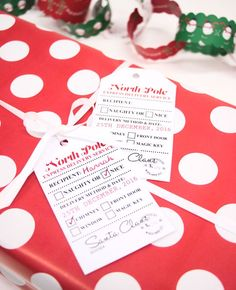 The best free christmas printables gift tags holiday greeting free printable santa gift tags negle Choice Image
